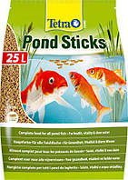 Основной корм для всех прудовых рыб Tetra Pond Sticks 50 л