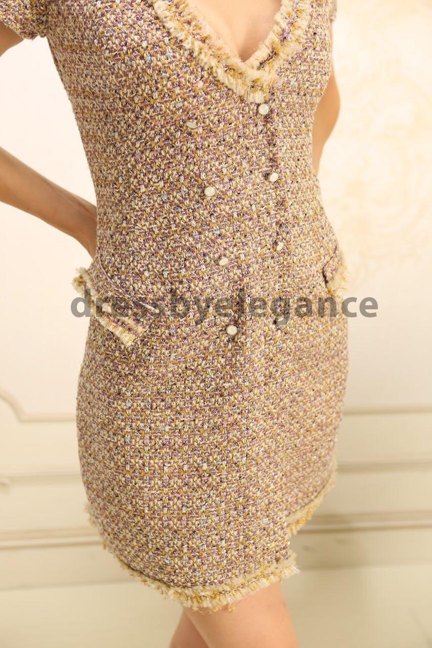 b062cba3f5e 1  Платье в Стиле Шанель Из Твидовой Ткани — в Категории