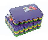 Килимок-пазл 50х50 см, набір 12 шт., 2,80 м2, т. 10 мм пінополіетилен щільність 50 кг/м3, TERMOIZOL®, фото 2