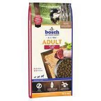 Сухой корм Бош Эдалт (Bosch Adult) ягнёнок и рис для средних пород собак, 15 кг