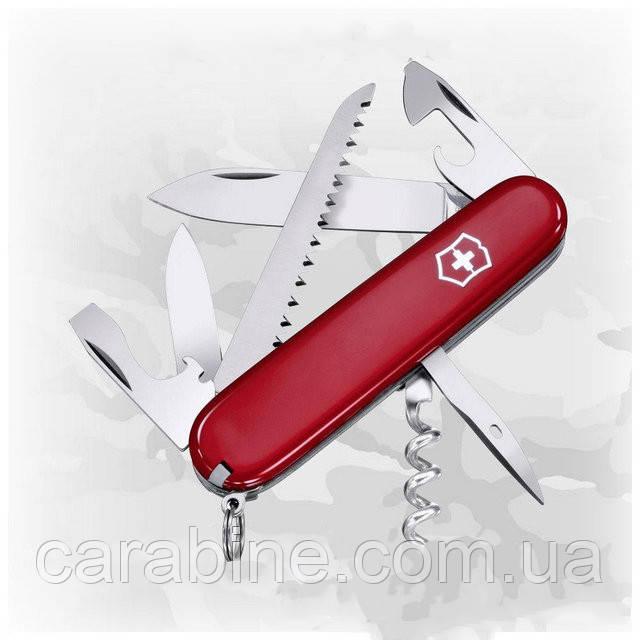 Нож Victorinox Camper 1.3613 красный, 13 функций
