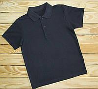 Фирменная футболка поло синяя для мальчика (TU)