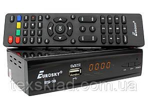 Цифровий ефірний T2 тюнер Eurosky ES-18
