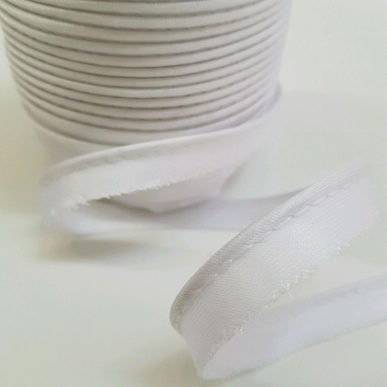 Кант атласный белый