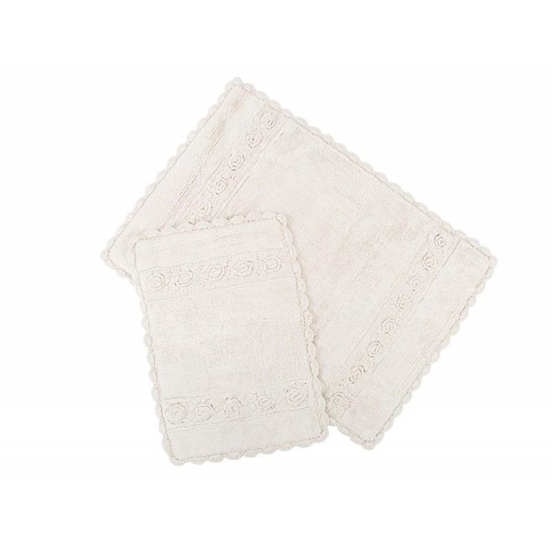 Набор ковриков Irya - Waltz ecru крем 60*90+40*60 см