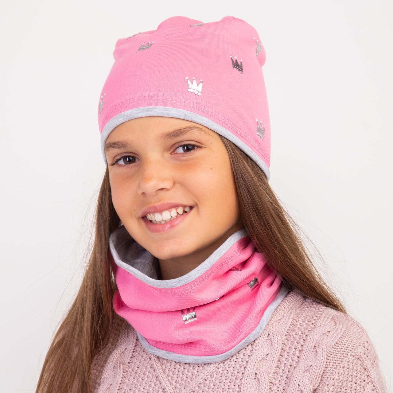 Теплый осенний комплект для девочки - Арт 2322
