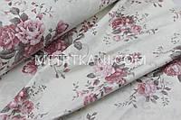 "Ткань ранфорс Турция ""Букеты роз "" 240см  № WH-09838"