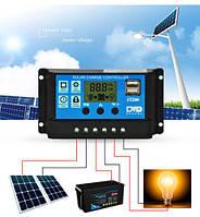 Контроллер 20 Ампер заряда для солнечных батарей и систем, фото 1