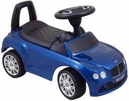 Машинка-каталка Alexis-Babymix Z-326P Bentley (blue) матовая краска