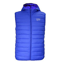 Жилетка Lee Cooper Xlite Hooded Down Gilet Mens