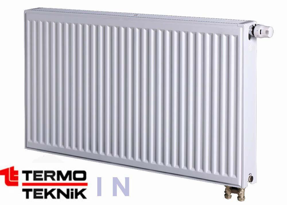 Стальной радиатор Termo Teknik 400x2000, 11 тип, нижнее подключение