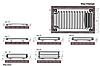Стальной радиатор Termo Teknik 400x2000, 11 тип, нижнее подключение, фото 2