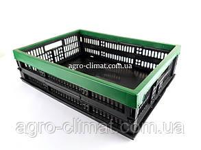 Ящик пластиковий складаний 480х350х126 Кольоровий