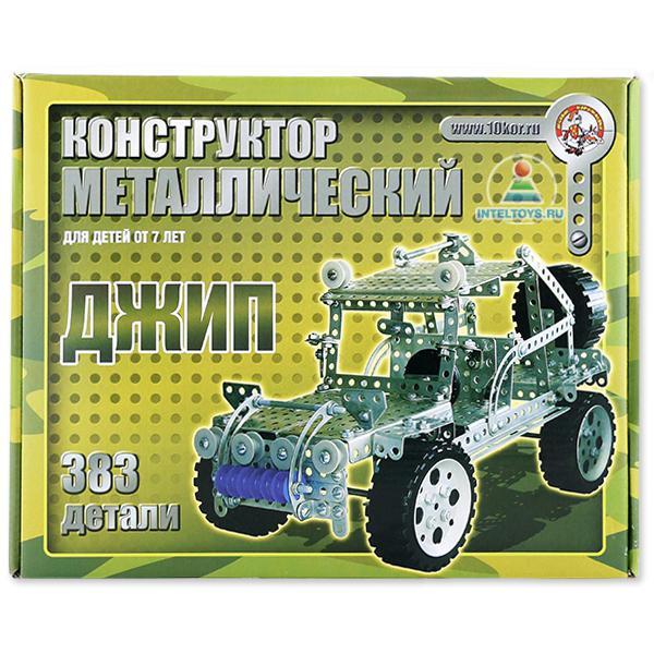 Конструкторы металлические и болтовые