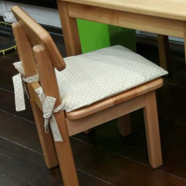Подушка на стул 30х30см - 01