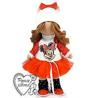 Текстильна лялька Міккі, середня
