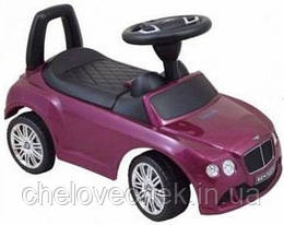 Машинка-каталка Alexis-Babymix Z-326P Bentley (purple) матовая краска