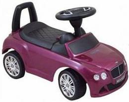 Машинка-каталка Alexis-Babymix Z-326P Bentley (purple) матовая краска