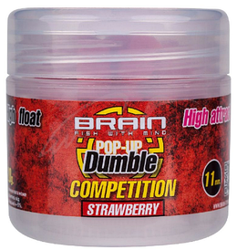 Бойли Brain Dumble Pop-Up Competition Strawberry 11 mm 20 g
