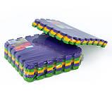 Килимок-пазл, татамі 50х50 см, набір 6 шт., 1,40 м2, т. 10 мм пінополіетилен щільність 50 кг/м3, TERMOIZOL®, фото 4