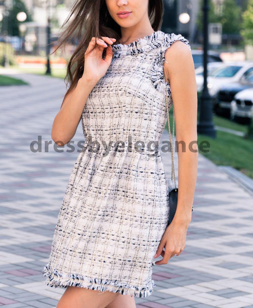 3856a7da24f 3  Элегантное платье из твидовой ткани в стиле шанель - dressbyelegance в  Киеве