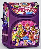 Ранец школьный каркасный Winx Винкс 1, 2 класс. Для девочек. Рюкзак, портфель ортопедический для школы