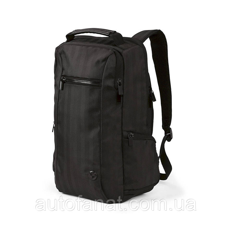 Оригинальный городской рюкзак BMW Backpack, 20L, Black (80222454677)