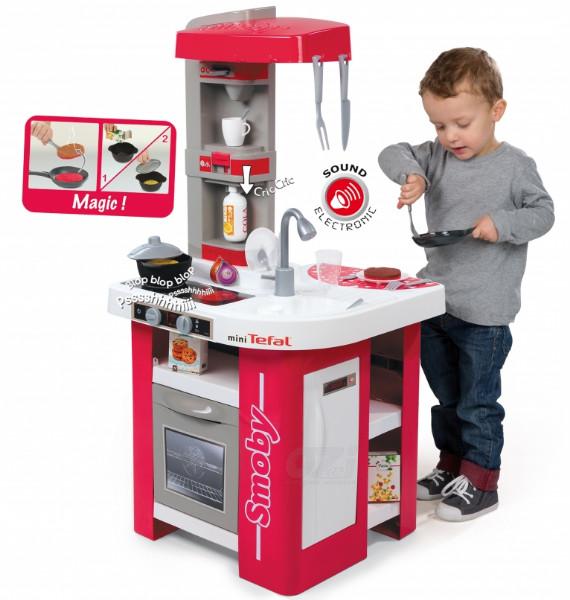 Интерактивная детская кухня Tefal Studio Smoby 311022 100 см