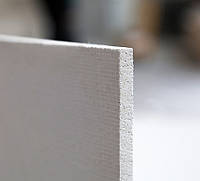 Магнезитовая плита 12 мм размер листа 1200х2280 мм. УСИЛЕННАЯ 1100 кг/м3, фото 1