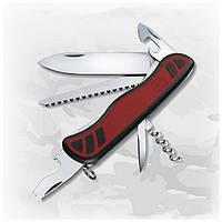 Нож Victorinox Forester 0.8361.C красно-черный, 13 функций