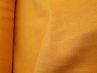 """Льняная ткань для постельного белья """"Охра"""" (шир. 260 см)"""
