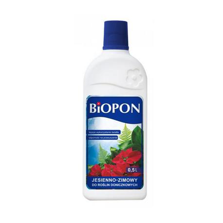 Удобрение для комнатных растений осень-зима BIOPON 0,5 л