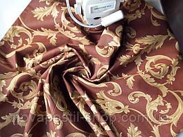 Вензель беж, постельное белье из ранфорса (100% хлопок)