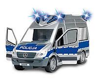 Полицейская машина со звуком и светом Dickie 3716010