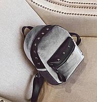 Рюкзак Jesse Velor Gray, фото 1