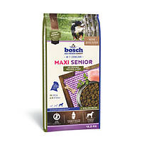 Сухой корм Бош Сеньор Макси (Bosch Senior Maxi) для пожилых собак крупных пород с птицей и рисом, 12.5 кг