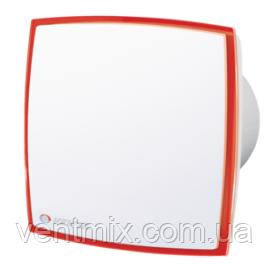 Вентилятор вытяжной ВЕНТС  125 ЛД Лайт (подсветка красная)