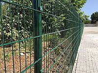 Секционный забор из сварной сетки Техна-Пром 2030х2500 диаметр 4 и 5 мм