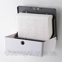 Диспенсер бумажных полотенец узких листовых Maggio P055W, фото 2
