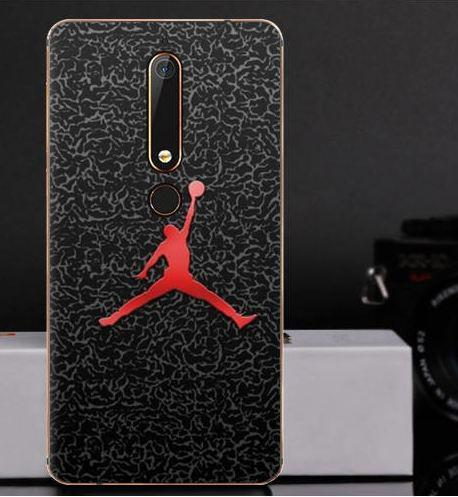 Силіконовий чохол бампер для Nokia 6 2018 з картинкою Баскетбол