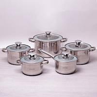 Набор посуды 10 пр.Kamille 4506S