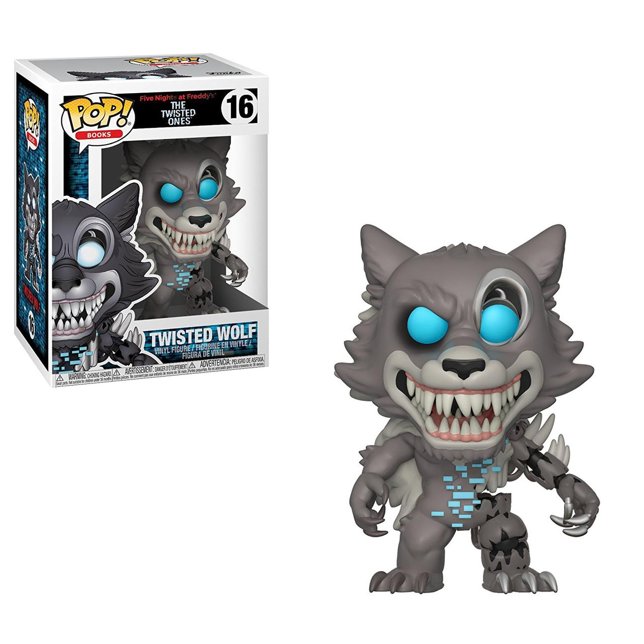 Фигурки 5 ночей с Фредди Funko Pop Books: Five Nights At Freddy's-Twisted Wolf Collectible Figure, Multicolor