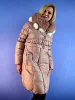 Пуховик женский, пальто SNOW OWL 152 (S-2XL) DEIFY, PEERCAT, SYMONDER, COVILY, DECENTLY