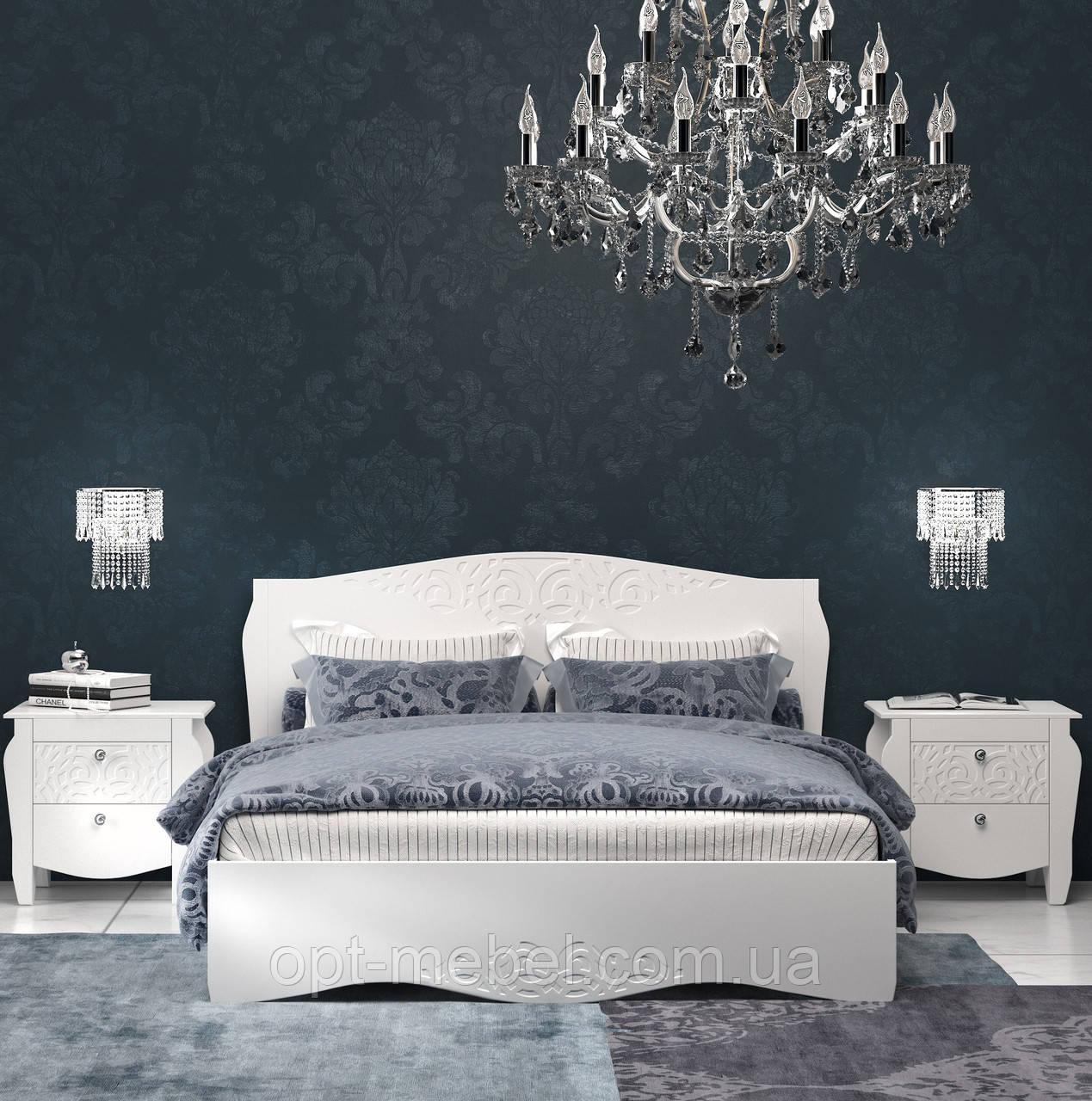 Кровать Гефест 1800 с ламелями на ножках
