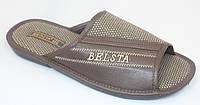 Домашние тапочки Belsta - мужские открытые, фото 1