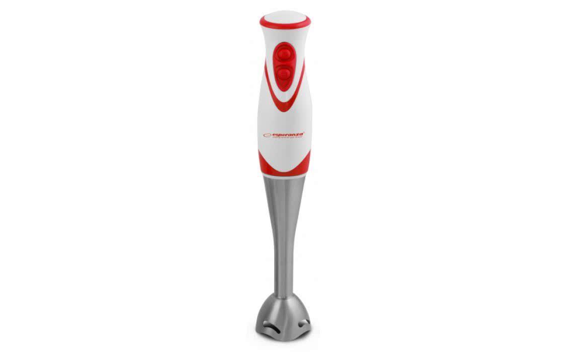 Блендер Esperanza EKM002R Red , 300W, погружной, 2 скорость, пластиков