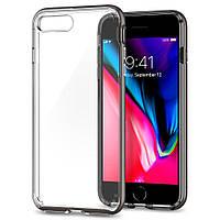 Чехол Spigen для iPhone 8 Plus / 7 Plus Neo Hybrid Crystal 2, Gunmetal , фото 1
