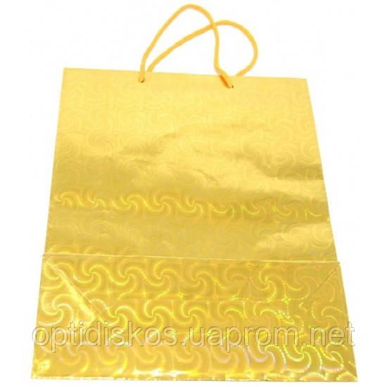 Пакет подарунковий паперовий 6х11х15, розмір D