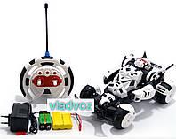 Машина на радиоуправлении Робот трансформер белая, фото 1