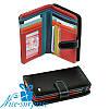 Женский маленький кожаный кошелёк Dr. Bond WRS-3 black (серия Rainbow)